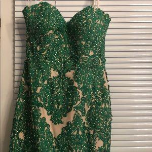 Angela & Alison gown